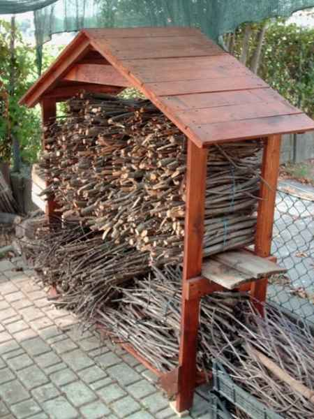 Firewood Storage Shelter : Firewood storage ideas