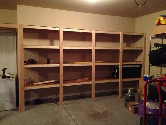 20 garage storage solutions and ideas our 1st new home building a ryan homes milan garage shelves