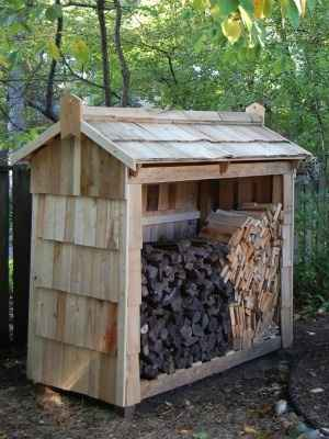 Plans To Build A Wood Storage Shed