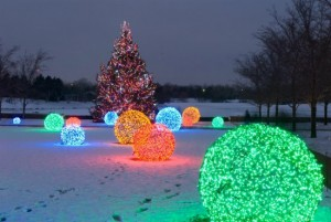 How To Make Awesome Christmas Light Balls