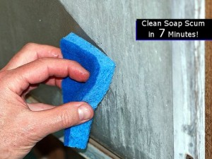 Clean Soap Scum From Your Shower In 7 Minutes
