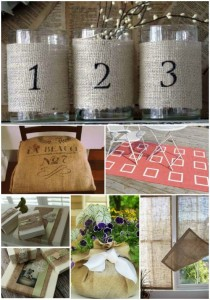 18 Creative Projects Made With Burlap