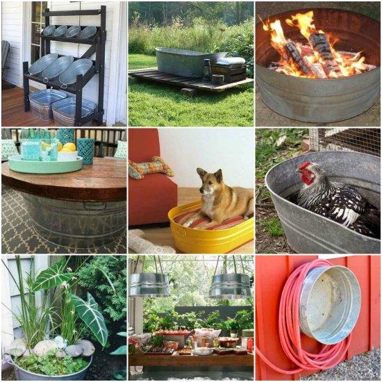 galvanized-tub-uses