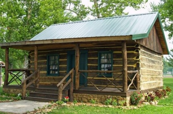 Log home plans 11 totally free diy log cabin floor plans for How to build a cabin floor