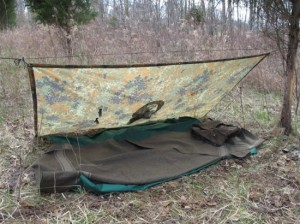 9 Military Poncho Survival Shelter Configurations
