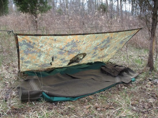 military-poncho-survival-shelter-configurations