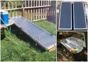 15 DIY Solar Water Heater Plans