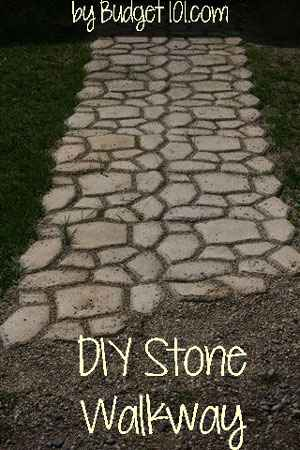 Backyard Path Ideas 25 lovely diy garden pathway ideas 04 12 Diy Garden Path Ideas
