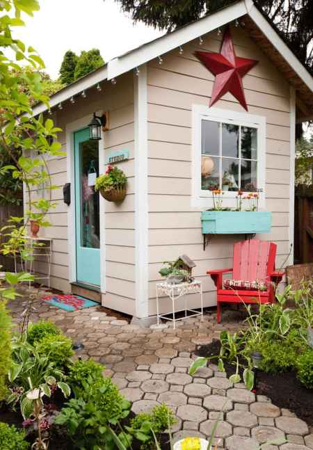 18 outhouse plans and ideas for the homestead for Garden shed gym