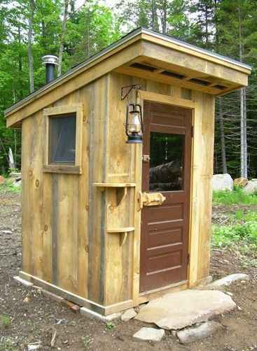 18 outhouse plans and ideas for the homestead for Outhouse pictures
