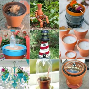 30 Creative Ways To Use Terra Cotta Pots