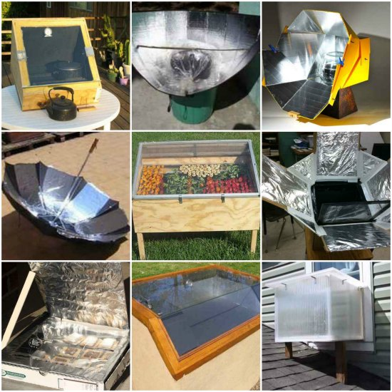 18 DIY Solar Cooker Plans