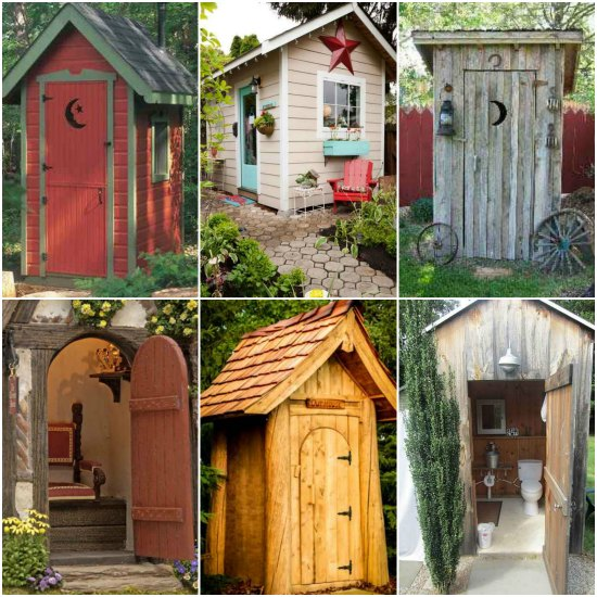 Home Design Ideas Build: 18 Outhouse Plans And Ideas For The Homestead
