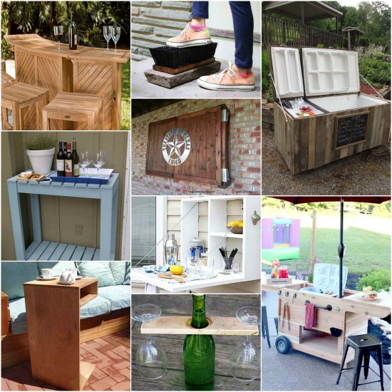 18 diy patio accessories for an outdoor oasis