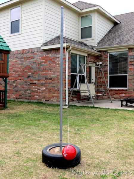 Backyard Playground Diy : 20 Awesome DIY Outdoor Play Equipment For Kids