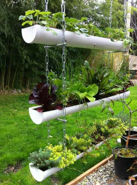 16 Gutter Garden Ideas And Designs
