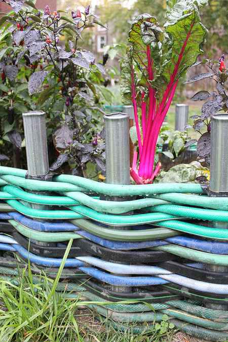 7 Ways To Repurpose Garden Hoses