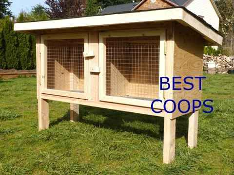 8 rabbit hutch ideas and designs