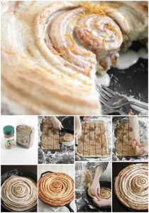 How To Make Giant Cast Iron Skillet Cinnamon Rolls