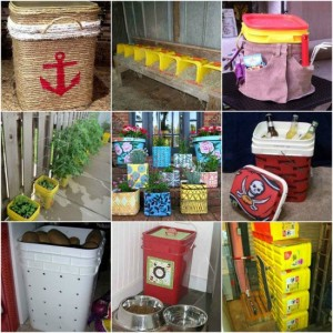 18 Creative And Practical Ways To Repurpose Kitty Litter Containers