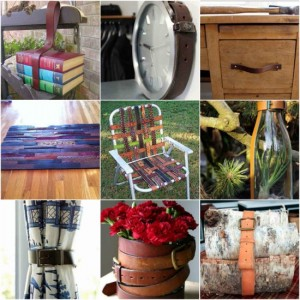 18 Creative Ways To Repurpose Old Leather Belts