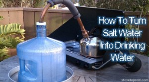 Learn How To Turn Salt Water Into Drinking Water