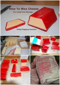 How To Wax Cheese For Long Term Storage
