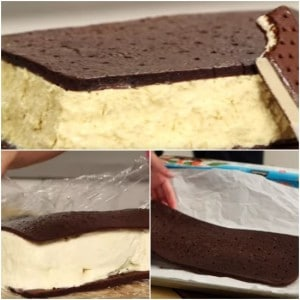 How To Make A Giant Ice Cream Sandwich