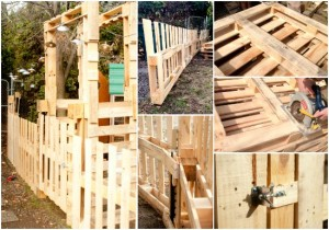 DIY Pallet Fence For Your Homestead