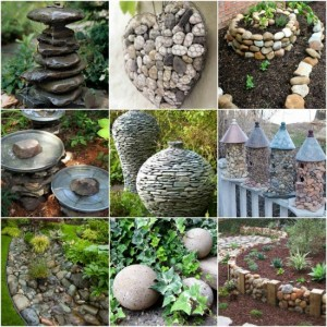 18 Stylish Garden Projects Using Rocks