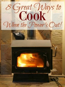 8 Great Ways To Cook When The Power Is Out