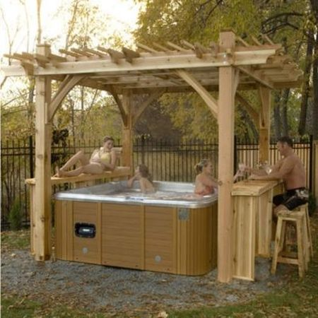 1-diy-pergola-plans-and-ideas - 18 DIY Pergola Plans And Ideas For Your Homestead
