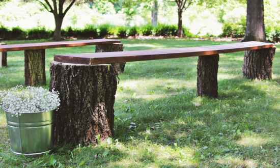 18 Practical Ways To Repurpose Tree Stumps