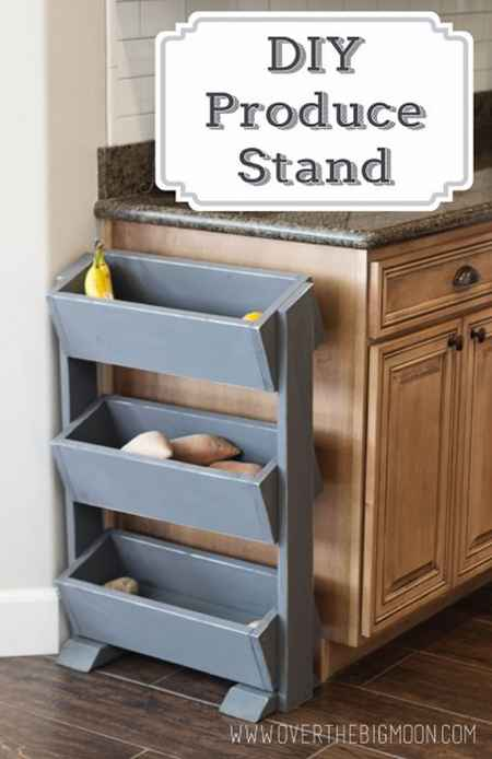Superieur 11 Diy Fruit And Veggie Storage Ideas