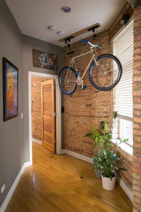 4 Bike Rack >> 18 Genius DIY Hanging Storage Solutions And Ideas