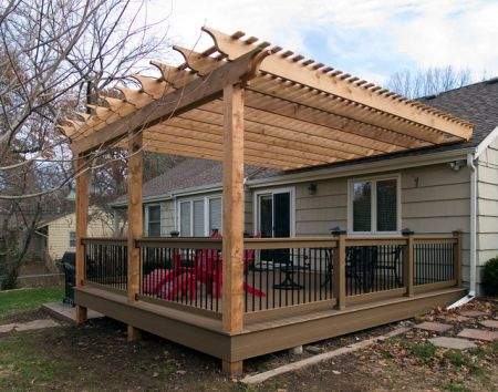 18 diy pergola plans and ideas for your homestead for Pergola images houzz
