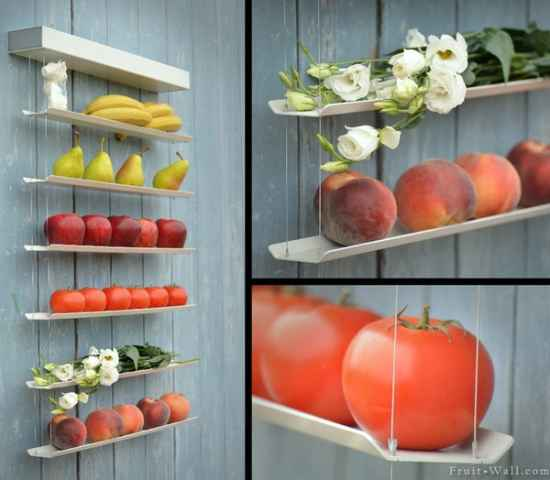 Genial 14 Diy Fruit And Veggie Storage Ideas