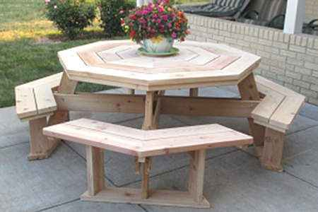 18 DIY Outdoor Dining Room Tables