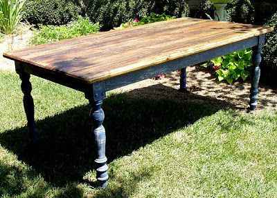 Pleasing 18 Diy Outdoor Dining Room Tables Interior Design Ideas Inesswwsoteloinfo