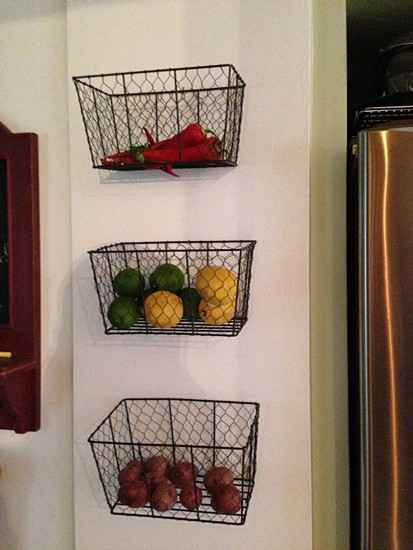 21 DIY Fruit And Veggie Storage Ideas