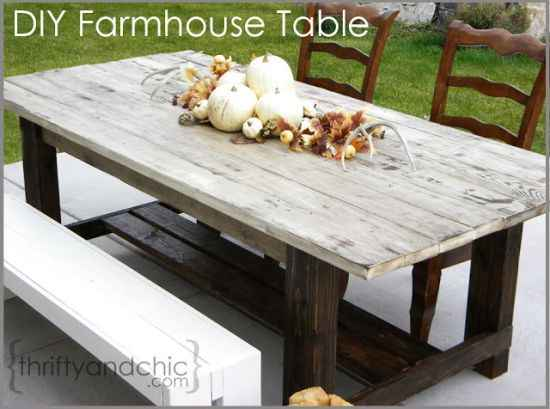 4 Diy Outdoor Dining Room Tables