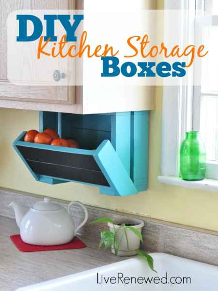Attrayant 8 Diy Fruit And Veggie Storage Ideas