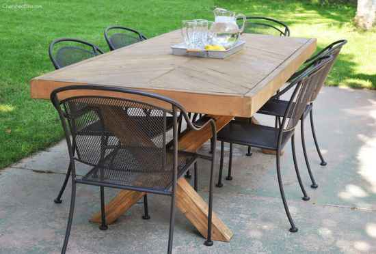 8 Diy Outdoor Dining Room Tables