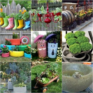 19 DIY Garden Planters And Ideas