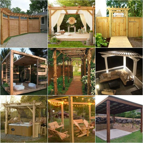 arbor designs ideas pergola gazebos ideas and designs garden entrance arbor ideas 18 diy pergola plans - Arbor Designs Ideas
