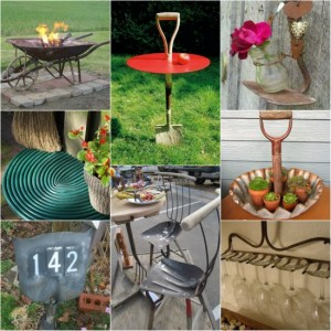 18 Genius Ways to Repurpose Old Garden Tools