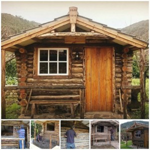 Step-By-Step Log Cabin Construction