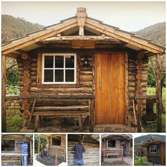 Step by step log cabin construction for How to build a cabin on a budget
