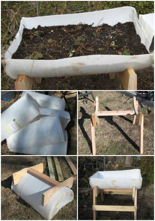 raised-garden-with-food-grade-barrels