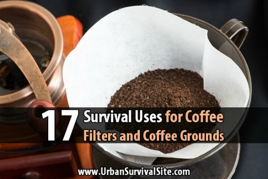 survival-uses-for-coffee-filters-and-coffee-grounds